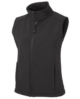 Ladies Layer Soft Shell Vest