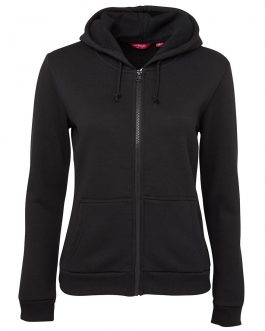 Ladies P/C Full Zip Hoodie
