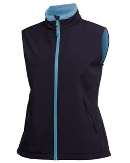 Podium Ladies Water Resistant Softshell Vest