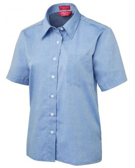 JB's Ladies Original S/S Fine Chambray Shirt