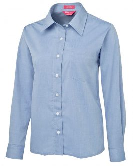 JB's Ladies Original L/S Fine Chambray Shirt