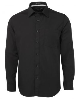 L/S Contrast Placket Shirt