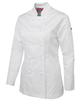 Ladies L/S Chef's Jacket