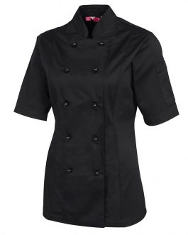 Ladies S/S Chef's Jacket