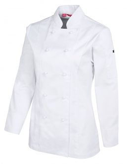 Ladies Vented L/S Chef's Jacket