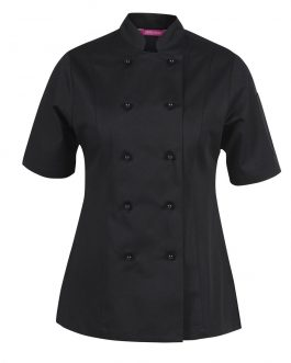 Ladies Vented S/S Chef's Jacket
