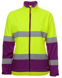 Ladies Hi Vis D+N Water Resistant Soft