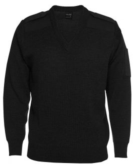 Knitted Epaulette Jumper