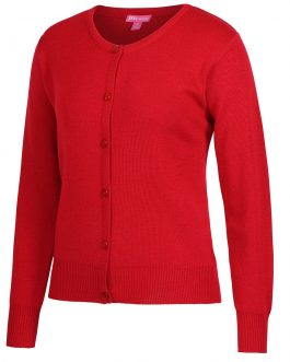 Ladies Corporate Crew Neck Cardigan