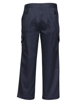 Kids Mercerised Work Cargo Pant