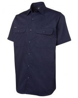 S/S 150G Close Front Work Shirt