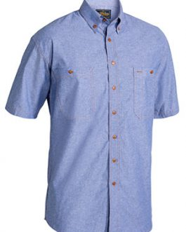 Chambray Shirt – Short Sleeve