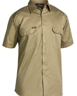 Cool Lightweight Drill Shirt Short Sleeve