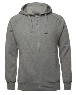 Adults Full Zip Fleecy Hoodie