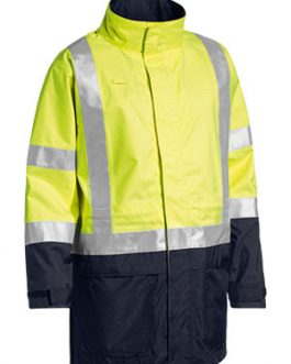 3m Taped Two Tone Hi Vis Anti Static Wet Weather jacket
