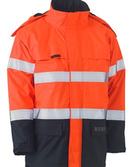 Taped Two Tone Hi Vis Fr Wet Weather shell jacket