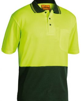 2 Tone Hi Vis Polo Shirt – short sleeve