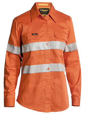 3m Taped Womens Hi Vis Industrial cool vent shirt