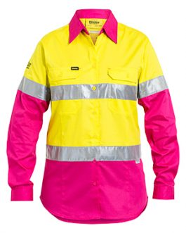Womens 3m Taped Hi Vis Cool lightweight shirt