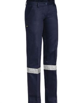 Womens Drill Pant 3m Reflective Tape