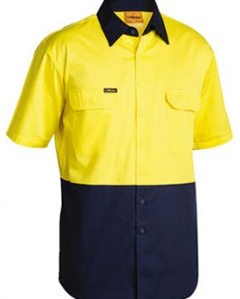 2 Tone Cool Lightweight Drill shirt – short sleeve