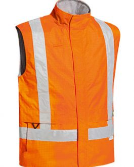 3m Taped Hi Vis Wet Weather Anti Static Vest