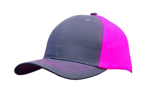 Brushed Heavy Cotton Contrast Cap