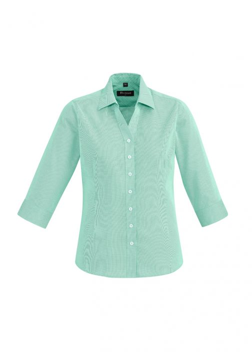 WOMENS HUDSON 3/4 SLEEVE SHIRT