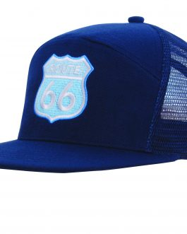 Route Premium American Twill A Frame Cap with Mesh Back