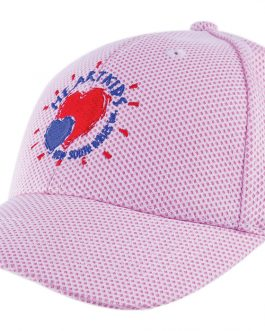 Heart Kids Mesh Covered Cotton Twill