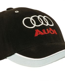 Audi Brushed Heavy Cotton with Reflective Trim & Tab on Peak