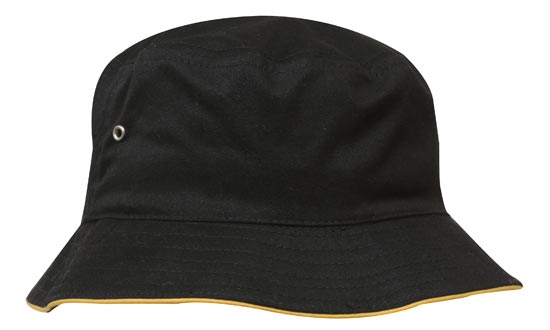 Bakersmart Brushed Sports Twill Bucket Hat